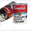 $9 for the Campbell's Alphabet Dice Game