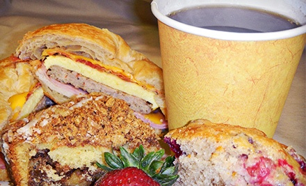 $10 for $20 Worth of Coffee Drinks, Baked Goods, and Sandwiches at Aspen's Brew
