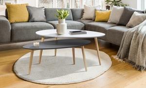Tables gigognes scandinaves