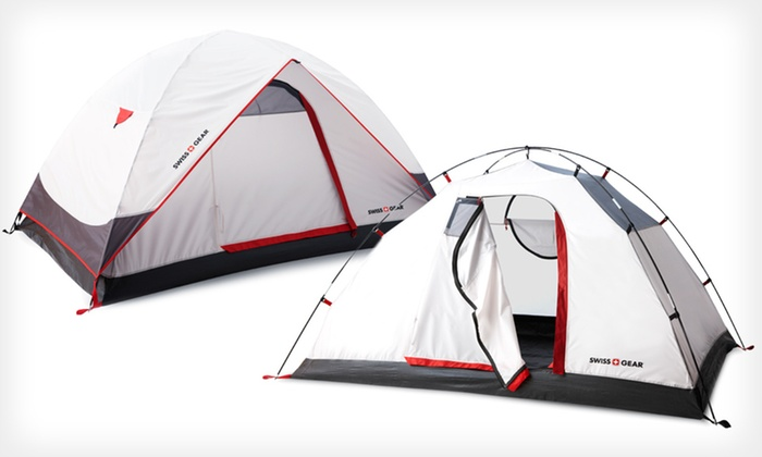 ... Swiss Gear Alpine Peak Tent Swiss Gear Alpine Peak Two-Person or Four- ... & Up to 55% Off a Swiss Gear Alpine Peak Tent | Groupon