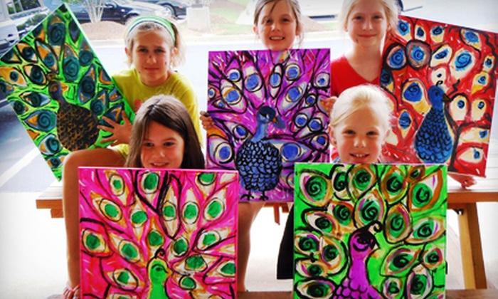 Sip & Stroke - Ellard: $17.50 for a Three-Hour Kids' Camp Art Class at Sip & Stroke ($35 Value)