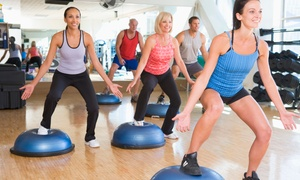 Five Point Fitness: Four- or Eight-Week Shred Fitness Bootcamp at Five Point Fitness (Up to 80% Off)