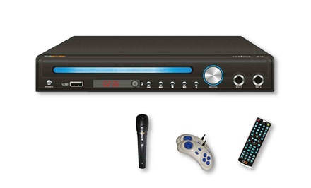 Digital Multimedia Player with Karaoke and Retro Games
