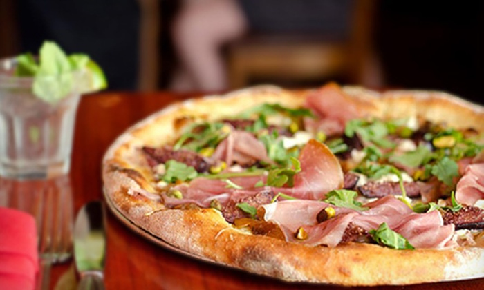 Brick NYC - Tribeca: $39 for Artisan Pizza-Making and Wine-Tasting Class for Two at Brick NYC ($80 Value)