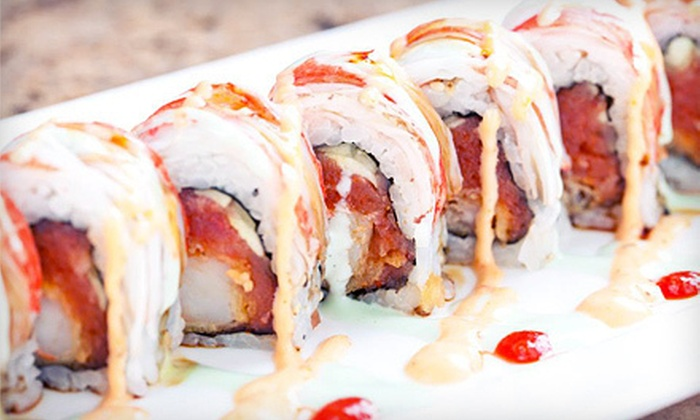 Sushi Axiom - Lower Greenville,Cochran Heights,Knox Henderson: Sushi and Asian Cuisine for Dinner or Lunch at Sushi Axiom (Half Off)