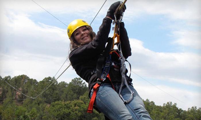 Royal Gorge Zip Line Tours - Cañon City: $49 for a Zipline Tour for One from Royal Gorge Zip Line Tours ($98 Value)