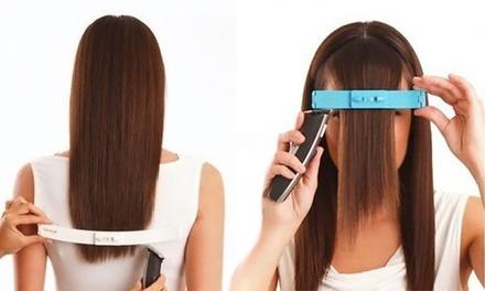 1 ou 2 clips pour couper la frange ou les longueurs de cheveux