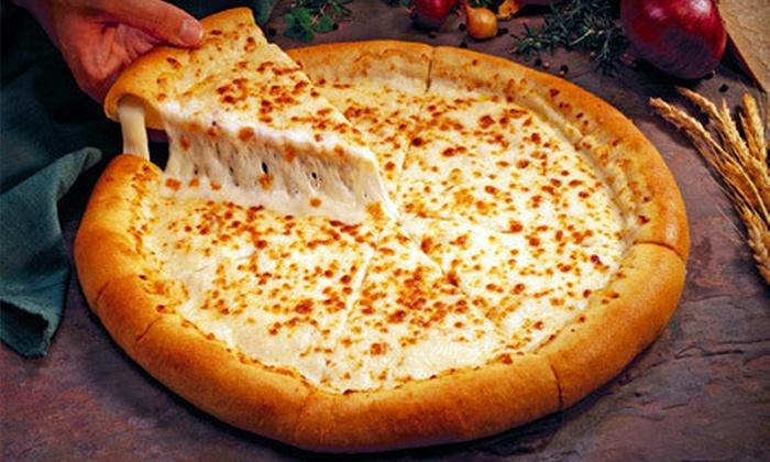 Zini's Pizzeria - Multiple Locations: Pizza Meal with Five Pizzas and Garlic Cheezi Bread or $9 for $20 Worth of Pizzeria Food at Zini's Pizzeria