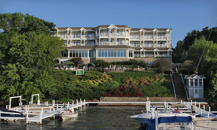 The Geneva Inn - Lake Geneva: One-Night Stay at The Geneva Inn in Lake Geneva, WI