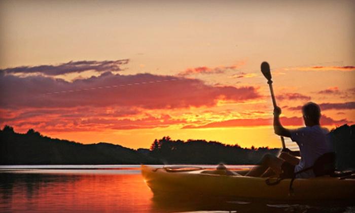 I Kayak Sarasota - Sarasota: $22 for a Guided Two-Hour Sunset Kayak Tour for One from I Kayak Sarasota ($45 Value)