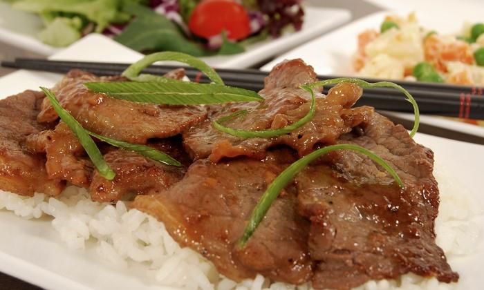 Sakana Sushi & Grill - Buckhead: Hibachi Dinner Cuisine for Two or Four at Sakana Sushi & Grill (50% Off)