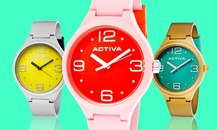 Activa by Invicta Men's and Women's Watches: $17.99 for an Activa by Invicta Watch (Up to $125 List Price). Multiple Styles Available. Free Shipping and Returns.