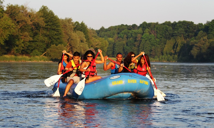 Grand River Rafting - Kitchener - Waterloo: Three-Hour Grand River Rafting Adventure for 2, 4, 8, 12, or 16 People from Grand River Rafting (Up to 62% Off)