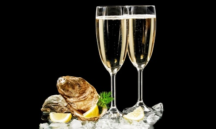 Oysters and Prosecco for Two or Four at Cacio e Vino (Up to 60% Off)