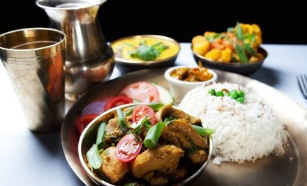 $12 for $22 Worth of Nepalese Cuisine at Taste of the Himalayas