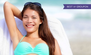 Clearstone Spa: $157 for Six Laser Hair-Removal Treatments on One Area at Clearstone Spa (Up to $474 Value)