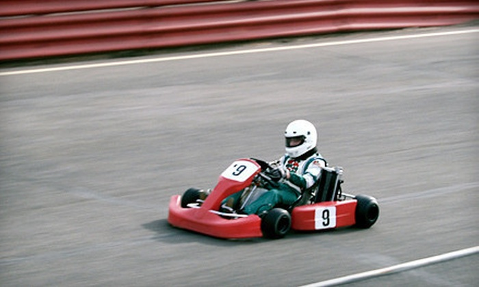 Speed Street Indoor Racetrack - Lexington Place: $44 for Four Go-Cart Races and a One-Year Membership to Speed Street Indoor Racetrack in Glendale ($90 Value)