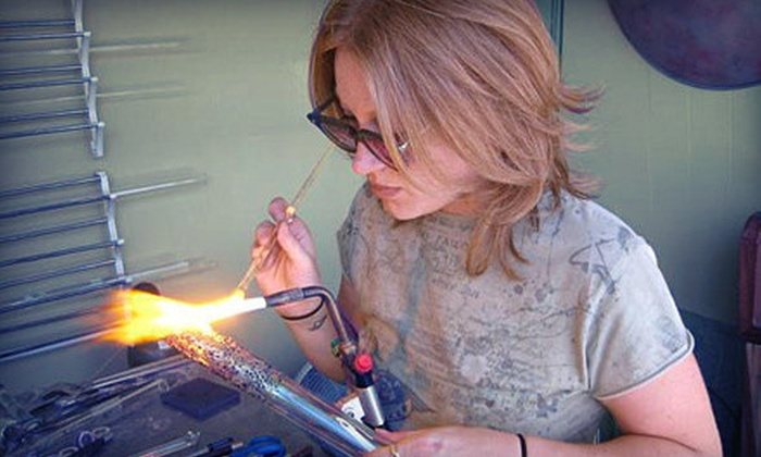 Studio 1688 - Masjid Al-Noor Housing Development Corp: BYOB Flame-Working or Glass-Blowing Class for One or Two at Studio 1688 (Up to 56% Off)