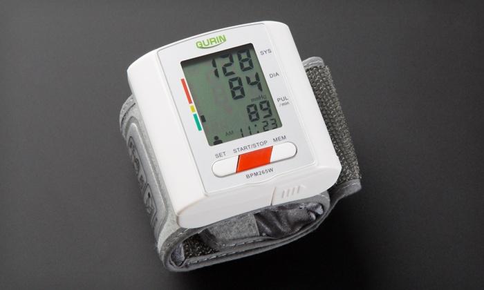 Gurin Pro Two-User Digital Wrist Blood-Pressure Monitor