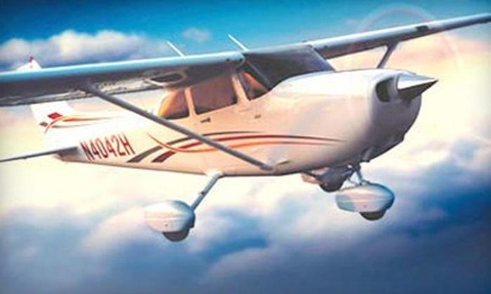 Fly Corona - Corona: 30-Minute Lake Mathews Demo Flight or 90-Minute Santa Catalina Island Demo Flight for Two from Fly Corona (Half Off)