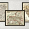 $99 for Framed Vintage State or District Map