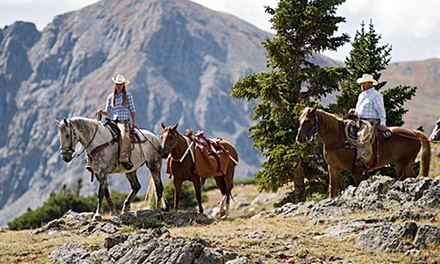 Trail Ride for Two or Four with Optional Dinner at Breckenridge Stables (Up to 52% Off)