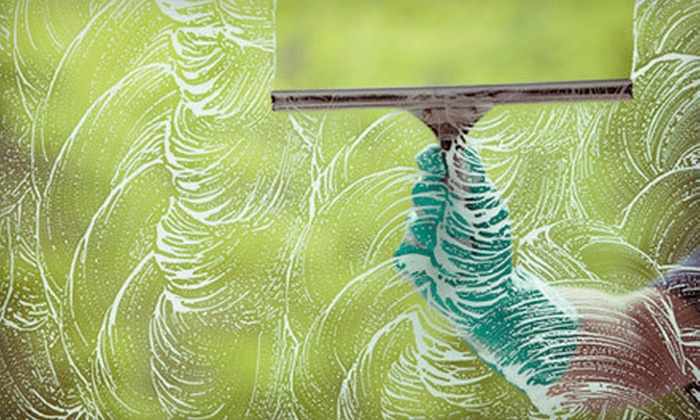 MS Handyman - Cedar Rapids / Iowa City: Interior and Exterior Window Washing for a One- or Two-Story House from MS Handyman (Up to 80% Off)
