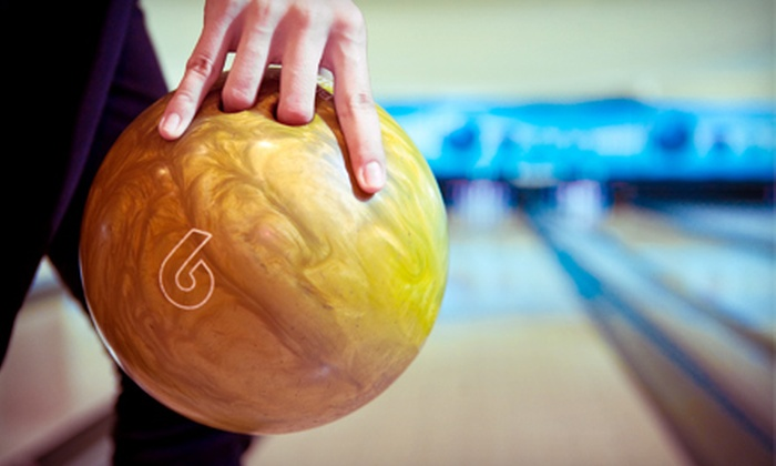 Parkway Bowl - Parkway Mall‎: 90 Minutes of Bowling for 6 or 12 with Pizza and Pop at Parkway Bowl (Up to 69% Off)