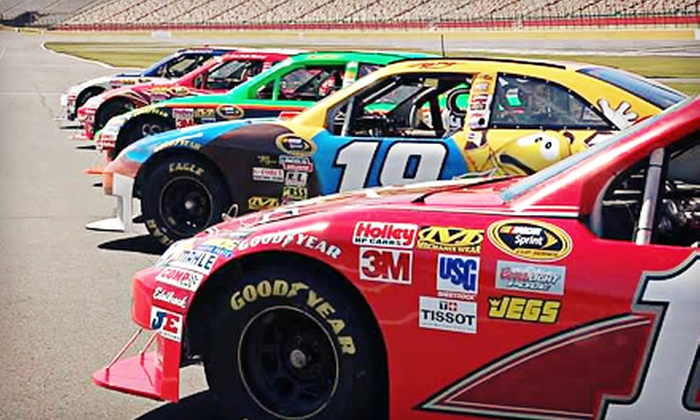 NASCAR Racing Experience - Auto Club Speedway: Three-Lap or Three-Hour Racing Experience from NASCAR Racing Experience (Up to 51% Off)