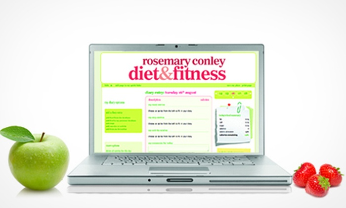 Rosemary Conley Diet & Fitness: Rosemary Conley Diet & Fitness Club: 12-Week Online Membership for £19 (65% Off)