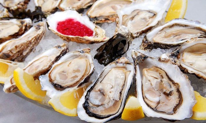 Goldfish Oyster Bar & Restaurant - Ossining: $27.50 for $50 Worth of Seafood and Steak at Goldfish Oyster Bar & Restaurant