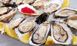 Goldfish Oyster Bar & Restaurant: $27.50 for $50 Worth of Seafood and Steak at Goldfish Oyster Bar & Restaurant