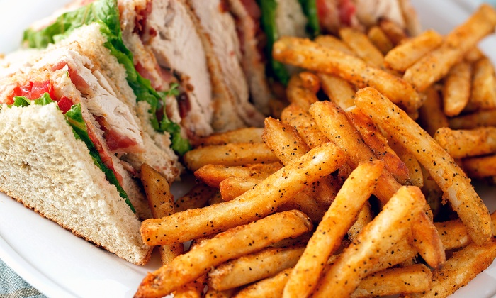 Signature Grill - Downtown: $16 for a Casual American Lunch for Two with Sandwiches or Salads and Drinks at Signature Grill (Up to $32 Value)