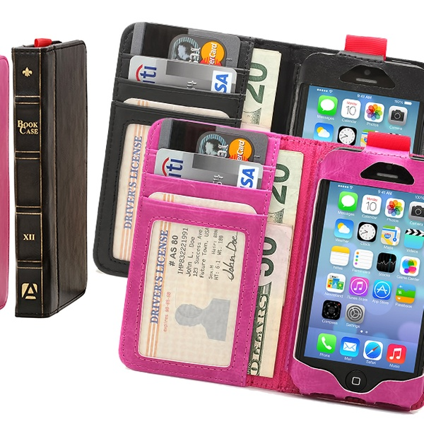 new arrival a34fa bea34 Pre-Order Aduro BookCase Folio and Wallet Case for iPhone 6 or iPhone 6 Plus