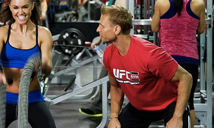 One or Two Months of Unlimited Gym Access and Classes with Hand Wraps at UFC Gym Commack (Up to 83% Off)