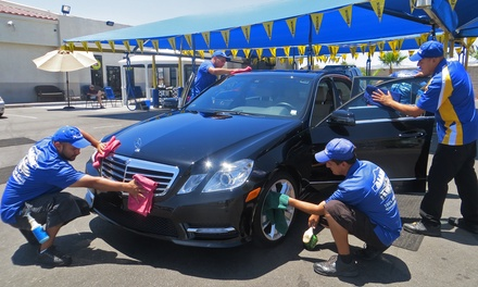 Three Express Car Washes or One or Two Gold Washes at Alamo Hand Car Wash (Up to 48% Off)