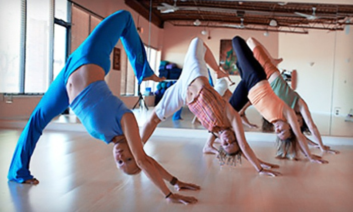 Darling Yoga - College Village: Five Drop-in Classes, or One Month of Unlimited Yoga Classes at Darling Yoga (Up to 77% Off)