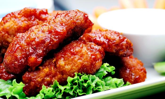 The Wing Factory La Porte - La Porte: Wings and Pub Food at The Wing Factory La Porte (Half Off)