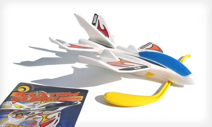 Eclipse Toys Custom Glide Plane: $25 for an Eclipse Toys Custom Glide Plane ($39.99 List Price). Free Shipping.