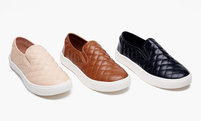 Form and Focus Women's Quilted Slip-Ons