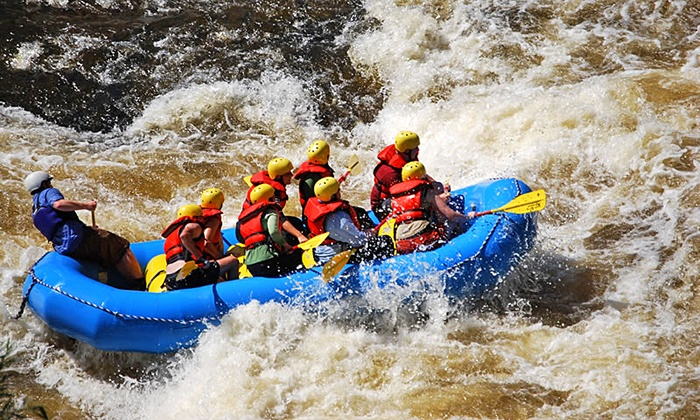 Black River Outfitters - Watertown: Whitewater Rafting with Wetsuit Rentals for One, Two, Four, or Eight from Black River Outfitters (Up to 52% Off)