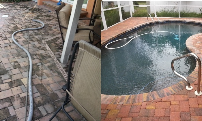 Beck's Hard Surface Recovery, Inc. - Tampa Bay Area: Sidewalk or Concrete Pressure Washing from Beck's Hard Surface Recovery, Inc. (67% Off)