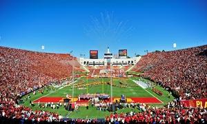 USC Men's Football Home Opener vs. Arkansas State: USC Trojans Football Season Opener Against Arkansas State at the LA Memorial Coliseum on Saturday September 5 (51% Off)