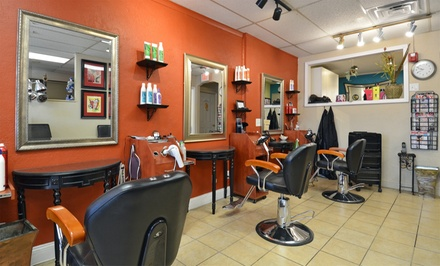 Wash, Cut, and Style with Optional Color or Full Foil Highlights from Susan Ferri at Hair N Now (Up to 56% Off)