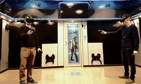 Lucha contra los zombis en realidad virtual para 1, 2 o 4 jugadores desde 16,95 € en Holo Vr Zone Oferta en Groupon