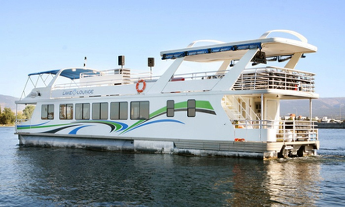 The Lake Lounge on Okanagan - Kelowna: $29 for an Evening Lake Cruise for Two from The Lake Lounge on Okanagan on September 10 or 16 ($60 Value)