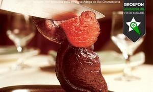 Adega do Sul Churrascaria: Adega do Sul – Gutierrez: rodízio de carnes com buffet para 1 ou 2 pessoas