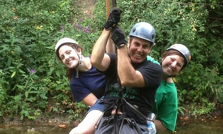Adventure Course for Two or Two Adults and Two Children at Adventure Creek (Up to 32% Off)