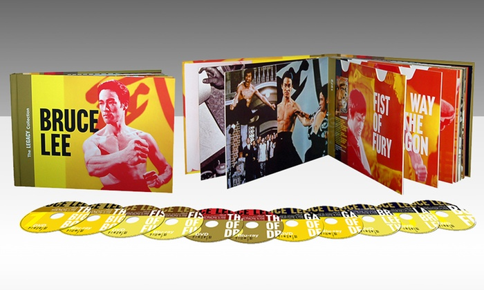 Bruce Lee Legacy Collection Blu-ray Box Set: Bruce Lee Legacy Collection DVD/Blu-ray Box Set (Refurbished). Free Shipping and Returns.