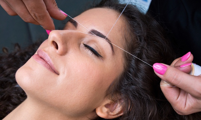 Define Brows & Spa - Raleigh: Full Face-Threading Session or Two or Three Eyebrow-Threading Sessions at Define Brows & Spa (50% Off)